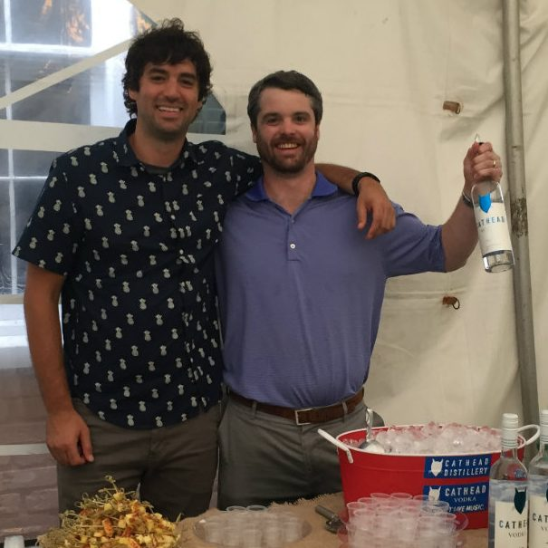 Best bartenders in Wilmington making craft cocktails with Cathead Vodka for Wilmington food and drink events.